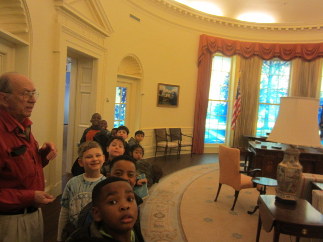 2nd grade at the Jimmy Carter Center